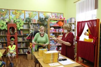 Bibliotekarka z Panią Dyrektor